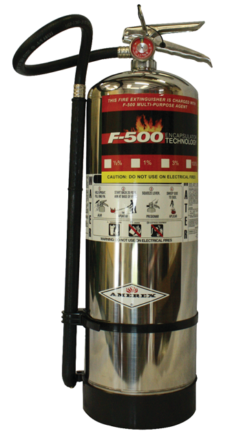 F500 Fire Extinguisher